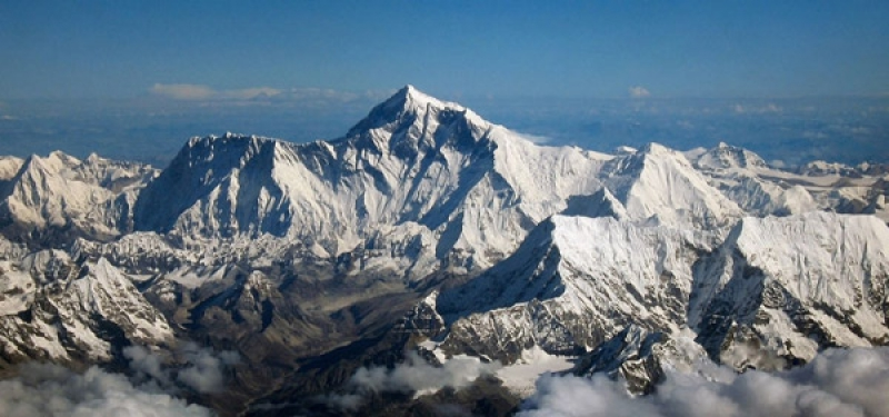 Vol himalayen vers l'Everest